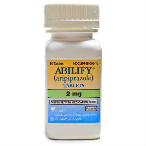 bottle of abilify