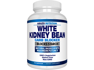 bottle of Arazo Nutrition White Kidney Bean Extract