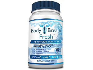 bottle of Body and Breath Fresh