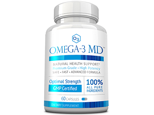 bottle of Omega-3 MD