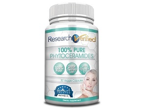 bottle of Research Verified Phytoceramides