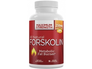 bottle of Thrive Naturals All Natural Forskolin