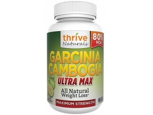 bottle of Thrive Naturals Garcinia Gambogia Ultra Max